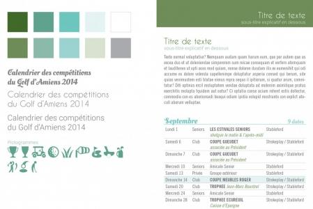 Glof-Club d'Amiens - charte graphique  4