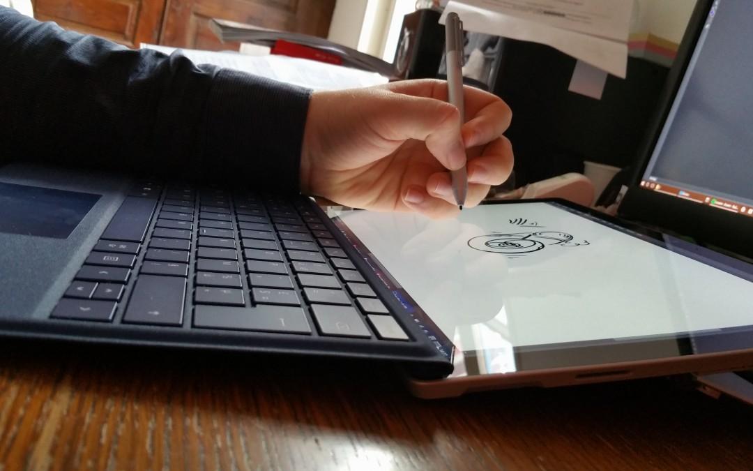 Surface pro 4, génial outil !