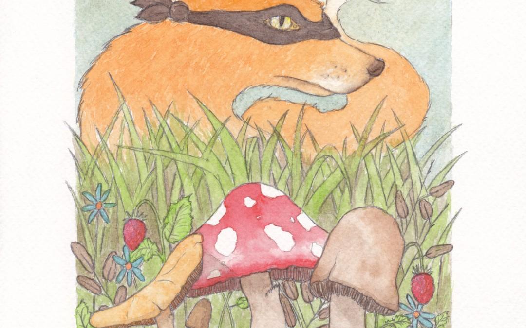Renardo et champignons