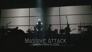Massive Attack - Zénith de Paris 2016 Concert