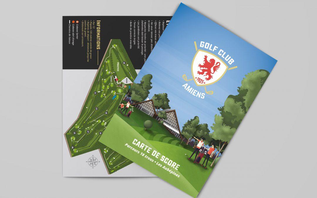 Parcours & panneaux Golf-Club Amiens 2016-2017