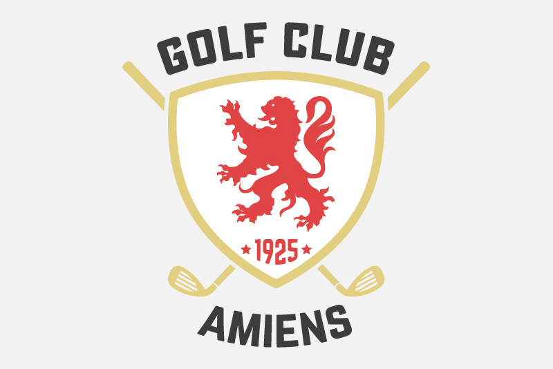 Logo Golf-Club d'Amiens 2016  1
