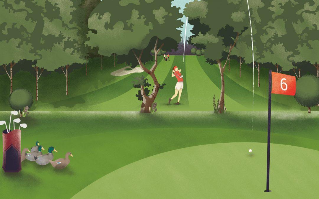 Communication Golf Amiens 2014-2017