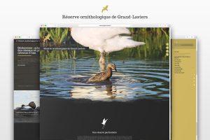 Réserve ornithologique Grand-Laviers site