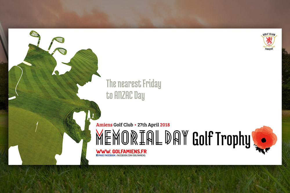 Memorial Day Golf Trophy