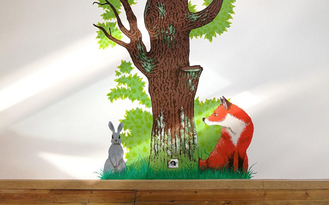 Faire une fresque pour une chambre d'enfant