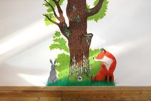 Faire une fresque pour une chambre d'enfant Non classé 2