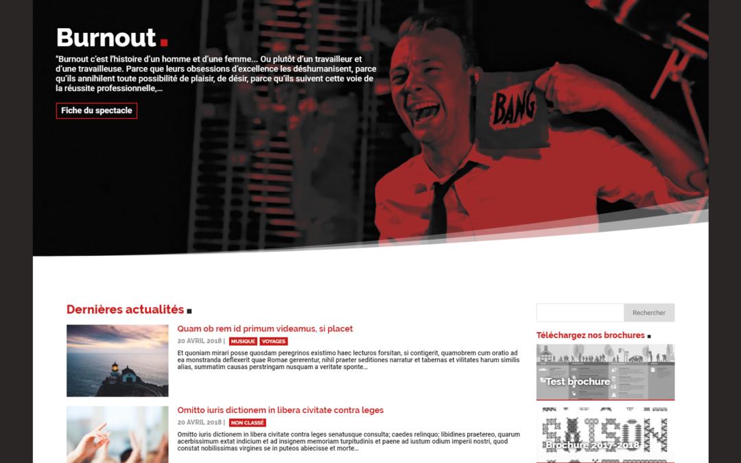 CSC Étouvie – site web