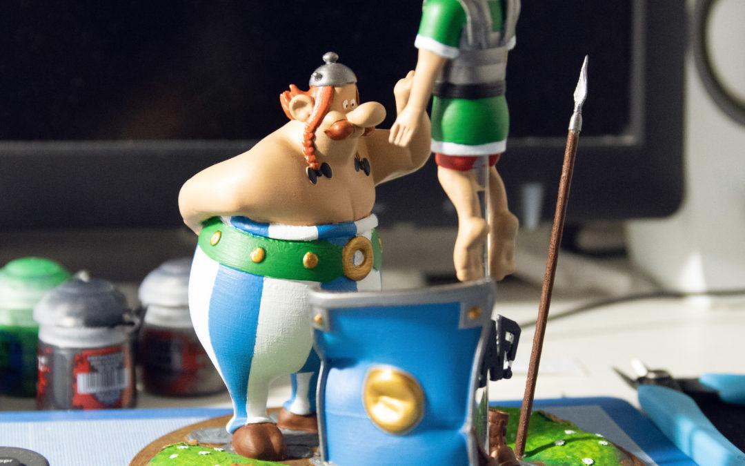 Créer une figurine en impression 3D – Obélix
