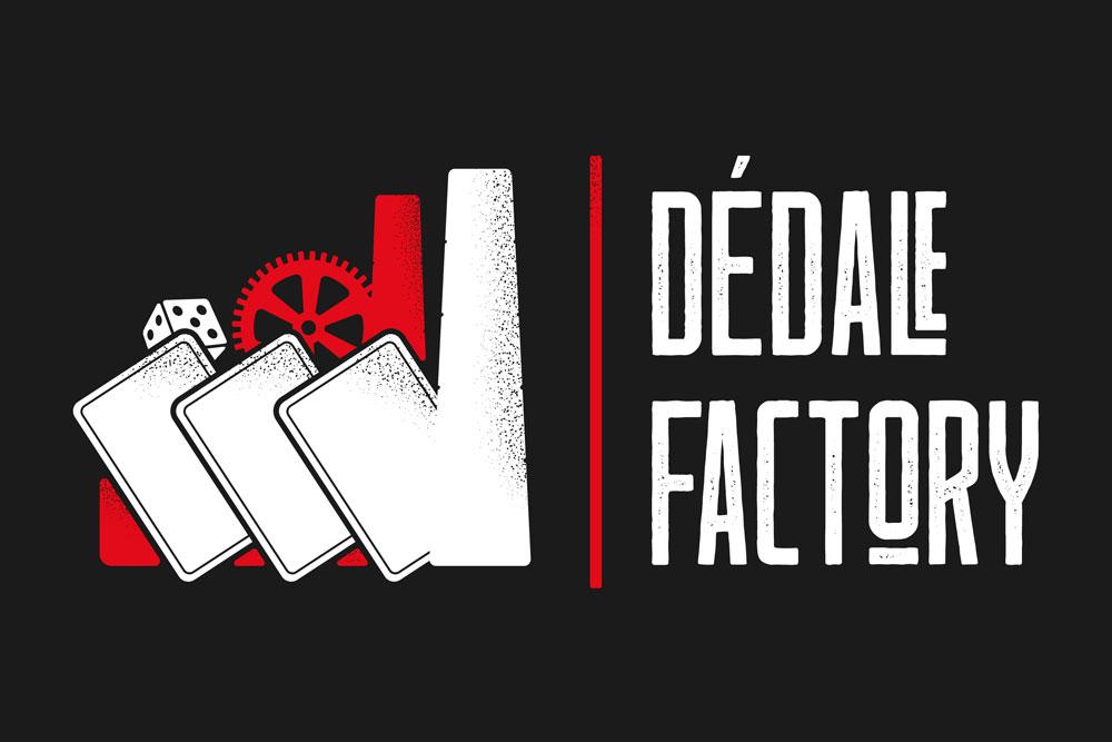 Logotype pour Dédale Factory