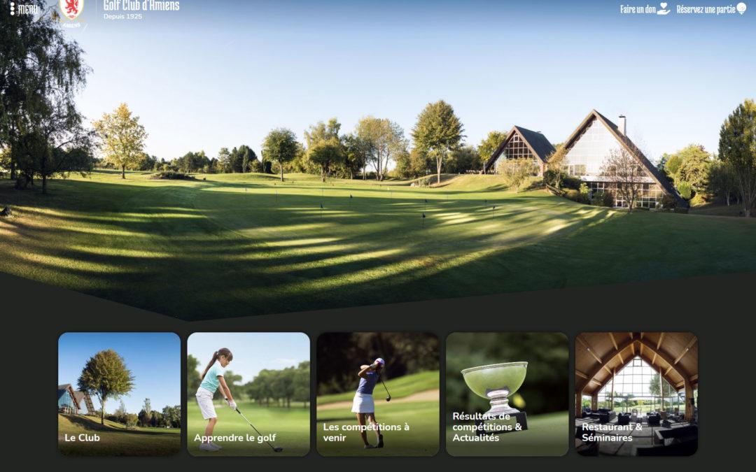 Site internet golfamiens.fr