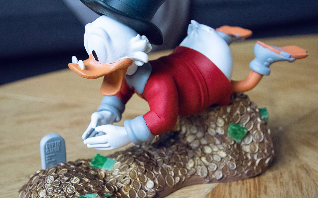 PICSOU Diorama – Scrooge McDuck